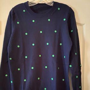 JCrew  Cotton Wool Teddie Sweater